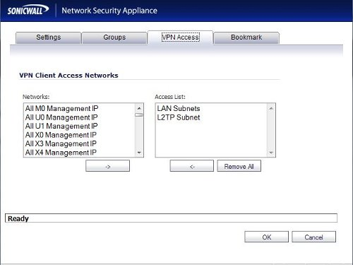 Apple iPad iPhone VPN Connection to SonicWall Firewall